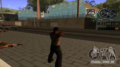 C-HUD notícias para GTA San Andreas segunda tela