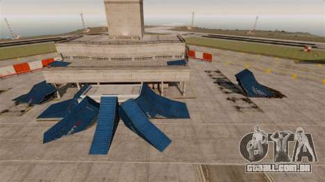 Truque-o estacionamento no aeroporto para GTA 4 segundo screenshot