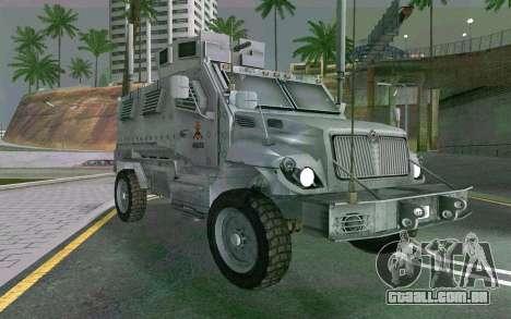 MRAP Mèxico Marinha para GTA San Andreas