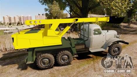 ZIL-157 GVK-32 para GTA 4 esquerda vista