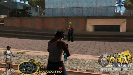 C-HUD Vagos by HARDy para GTA San Andreas terceira tela