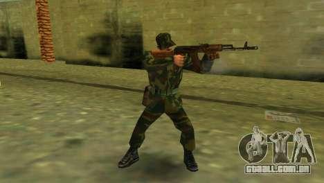 A forma da forças armadas de RF para GTA Vice City terceira tela