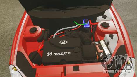 VAZ-2170 Dubai para GTA 4 vista interior