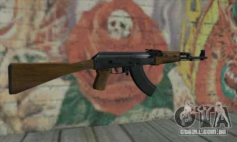 AK47 de L4D para GTA San Andreas segunda tela