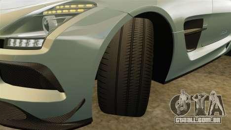 Mercedes-Benz SLS 2014 AMG Black Series para GTA 4 vista superior