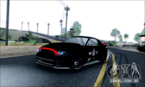 Ford Mustang GT 2013 v2 para GTA San Andreas vista inferior
