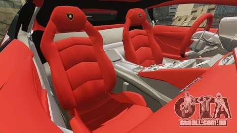 Lamborghini Huracan 2014 Oakley Tuning para GTA 4 vista lateral