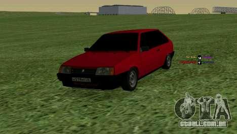 VAZ-2108 para GTA San Andreas
