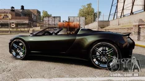 GTA V Dinka Jester [Redone] para GTA 4 esquerda vista