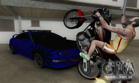 Yamaha Rx-King 135 2008 para GTA San Andreas vista interior
