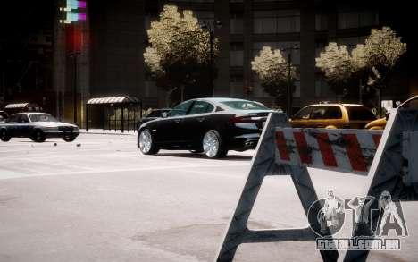 Jaguar XF-R 2012 v1.2 para GTA 4 vista superior