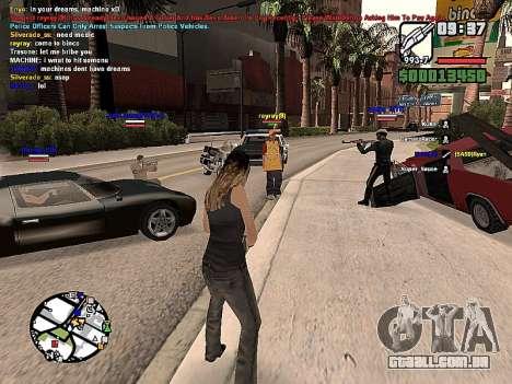 SA-MP 0.3z para GTA San Andreas segunda tela
