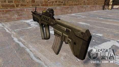 Fuzil TAR-21 para GTA 4 segundo screenshot