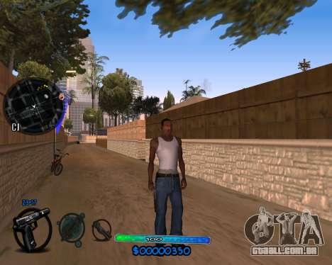 C-HUD by Vadya para GTA San Andreas