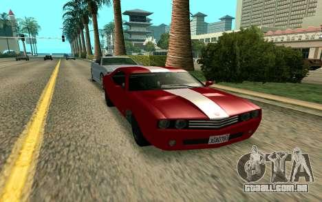 GTA V Gauntlet para GTA San Andreas