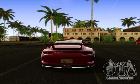 ENBSeries Exflection para GTA San Andreas por diante tela