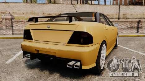 Chavos RSX v2.0 para GTA 4 traseira esquerda vista