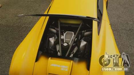 McLaren MP4-12C GT3 (Updated) para GTA 4 vista interior