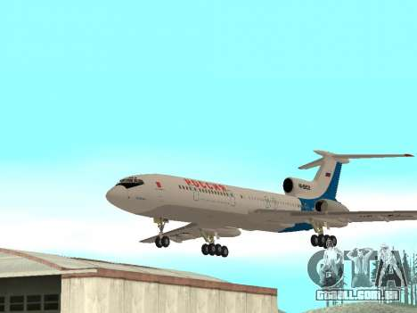 Tu-154 B-2 SCC da Rússia para GTA San Andreas