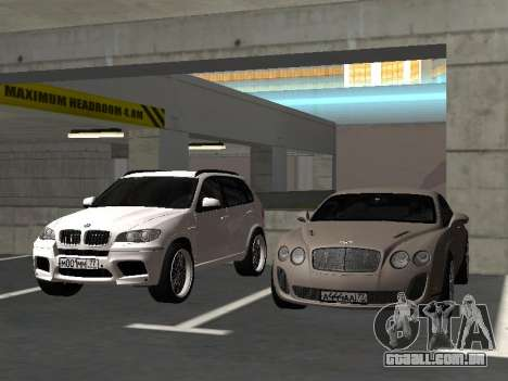 Bentley Continental Supersports para GTA San Andreas vista interior