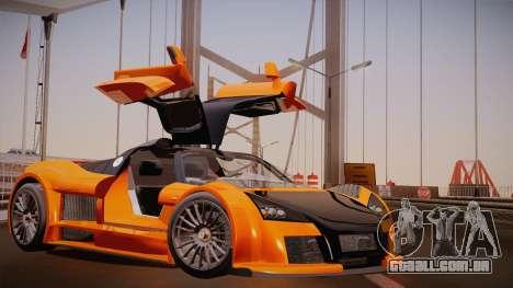 Gumpert Apollo Sport V10 para GTA San Andreas esquerda vista