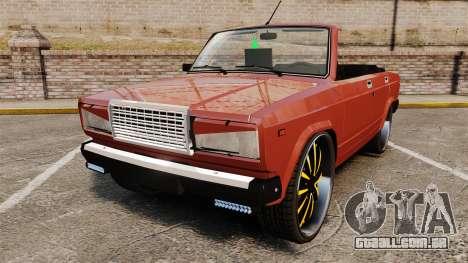 VAZ-2107 Donk Estilo para GTA 4