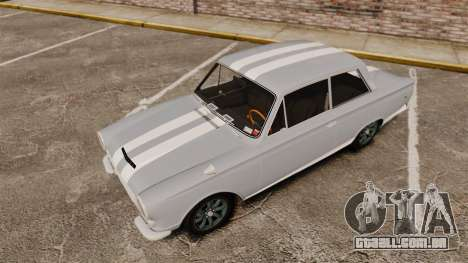 Lotus Cortina 1963 para GTA 4 interior