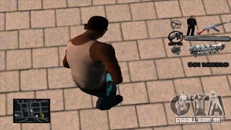 C-HUD Russian Mafia by Luigie para GTA San Andreas segunda tela