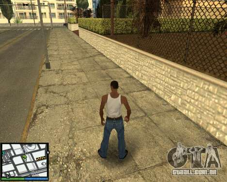 GTA V hud para GTA San Andreas terceira tela