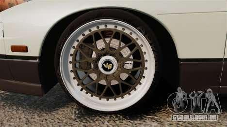 Nissan Onevia S13 [EPM] para GTA 4 vista de volta