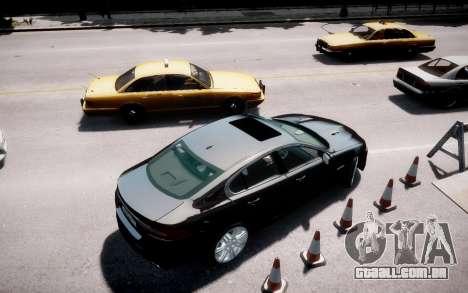Jaguar XF-R 2012 v1.2 para GTA 4 esquerda vista