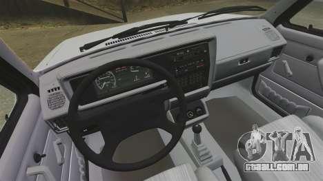 Volkswagen Rabbit GTI 1984 para GTA 4 vista de volta