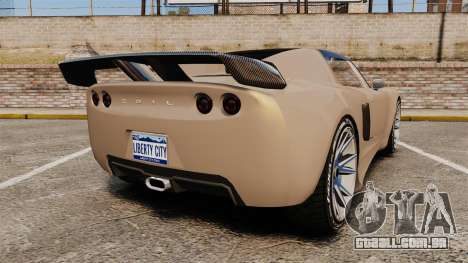 GTA V Coil Voltic para GTA 4 traseira esquerda vista