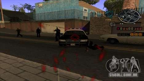 C-HUD notícias para GTA San Andreas terceira tela