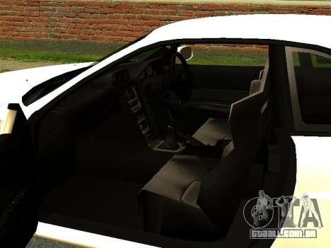Nissan Skyline R34 GT-R para GTA San Andreas vista traseira