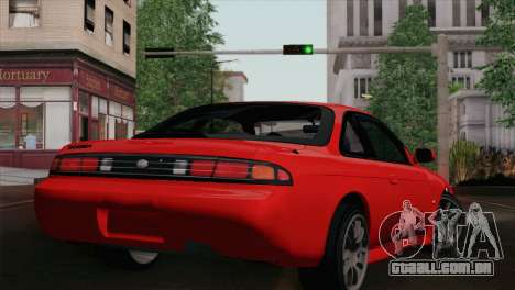 Nissan Silvia S14.5 para GTA San Andreas esquerda vista
