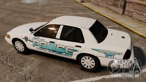 Ford Crown Victoria Traffic Enforcement [ELS] para GTA 4 vista lateral
