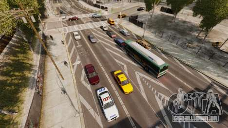 O tráfego real para GTA 4