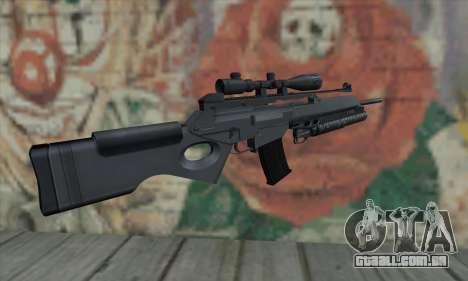 SG550 para GTA San Andreas segunda tela