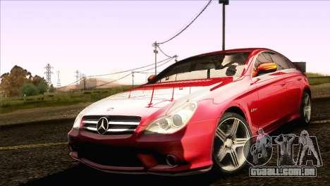 Mercedes-Benz CLS 63 AMG 2008 para GTA San Andreas esquerda vista