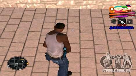C-HUD South Park para GTA San Andreas segunda tela