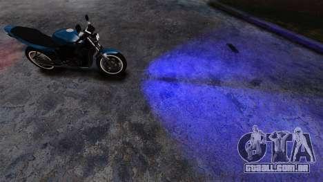 Azul faróis para GTA 4 segundo screenshot
