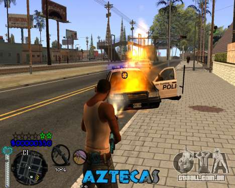 C-Hud by Abelardo para GTA San Andreas terceira tela