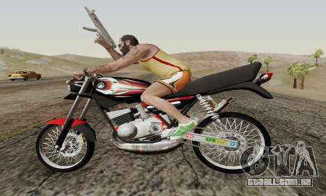 Yamaha Rx-King 135 2008 para GTA San Andreas vista superior