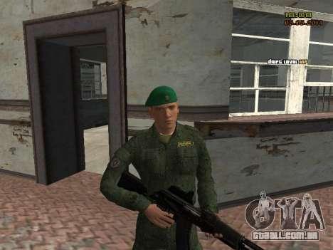 O exército russo moderno para GTA San Andreas
