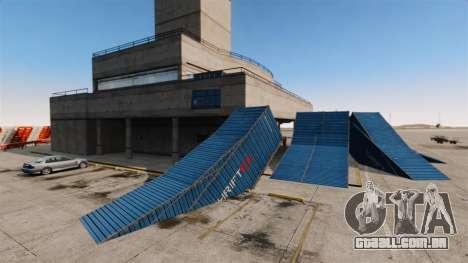 Truque-o estacionamento no aeroporto para GTA 4 quinto tela