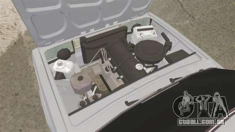 UTILIZANDO-Lada 2107 para GTA 4 vista de volta