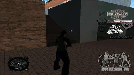 C-Hud Heavy Metal para GTA San Andreas