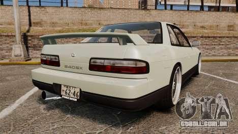 Nissan Onevia S13 [EPM] para GTA 4 traseira esquerda vista
