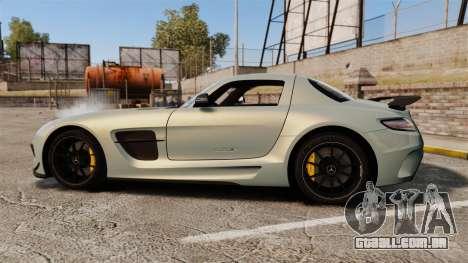 Mercedes-Benz SLS 2014 AMG Black Series para GTA 4 esquerda vista